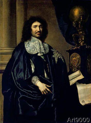 Claude+Lefebvre+-+Portrait+of+Jean-Baptiste+Colbert+de+Torcy+(1619-83)+1666