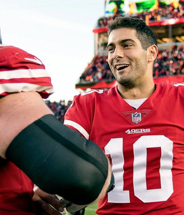 Kyle Shanahan impressed with 49ers QB Jimmy Garoppolo's off-schedule plays