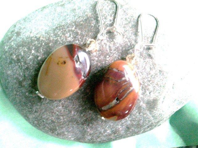 Mookaite Dangle Earrings £14.00