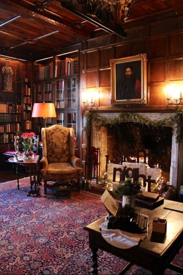 1627 best my way of decorating images on pinterest manor for English library decor