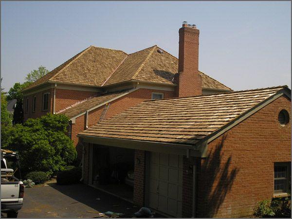 Best Cedar Shake Roof On A Brick House Cedar Shake Roofing Is 400 x 300