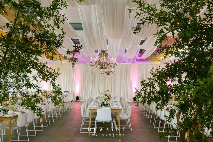 Create ambiance with draping