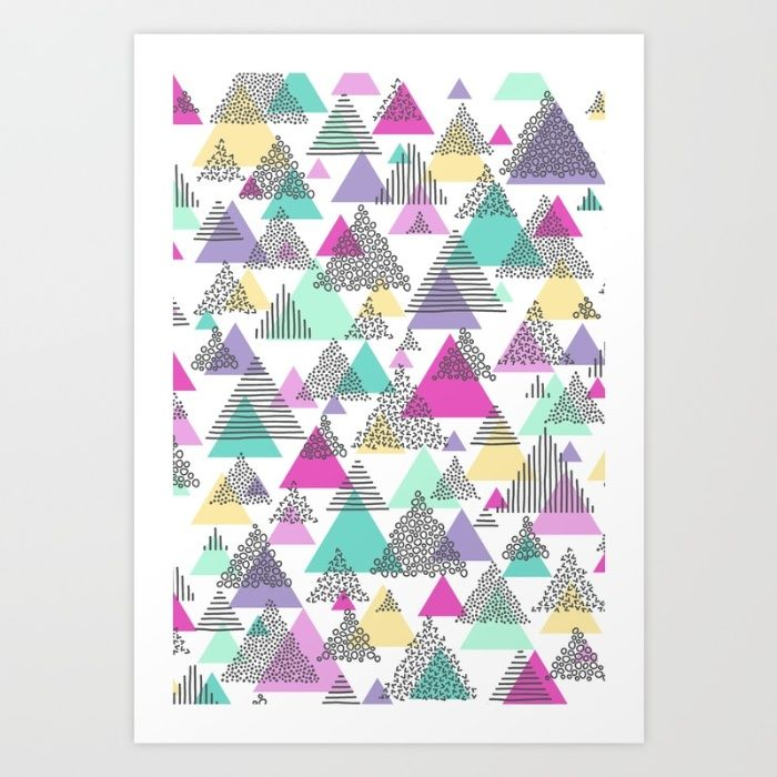 Spring Hills Art Print by Design By Jasmine | Society6