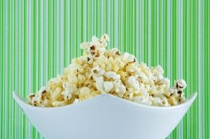 Dr Oz's ideas for cooking with coconut oil: Double Coconut Popcorn recipe & coconut oil pancake recipe; how to cook popcorn without burning.