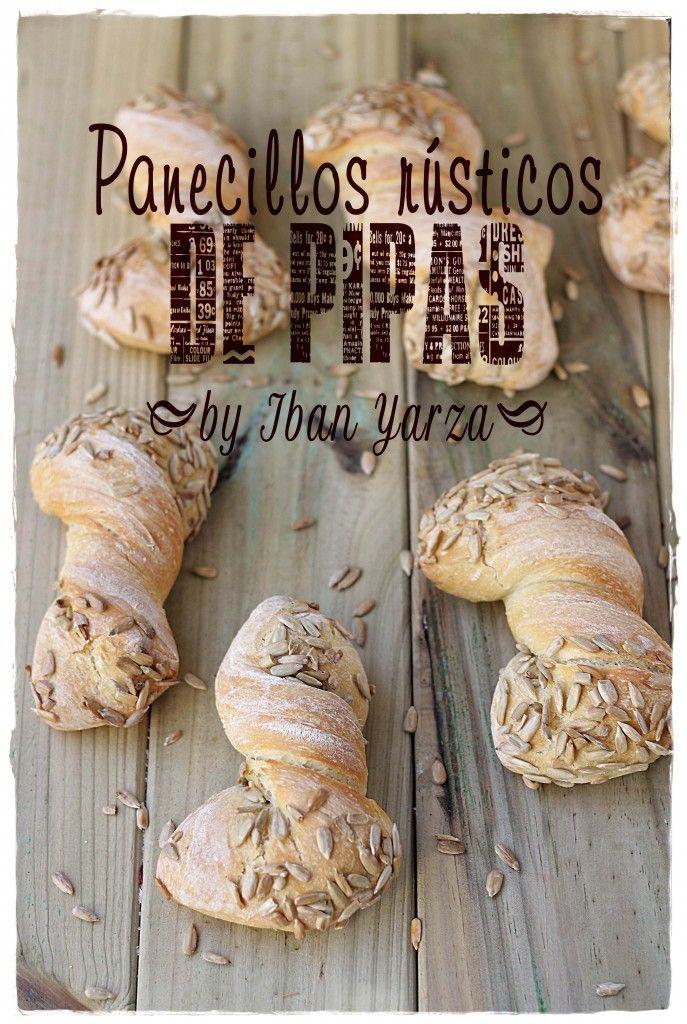 Panecillos rústicos de pipas (receta de Ivan Yarza) {by Paula, Con las Zarpas en la Masa}