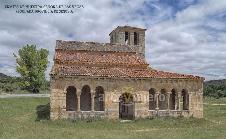Ermita de Nuestra Señora de las Vegas, Requijada, Segovia. Estilo románico