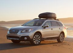 2015 Subaru Outback and Legacy impress at the track - Yahoo Autos