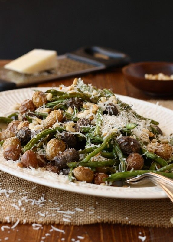 Roasted green beans: Stove, Pinenut, Recipes Couldn T