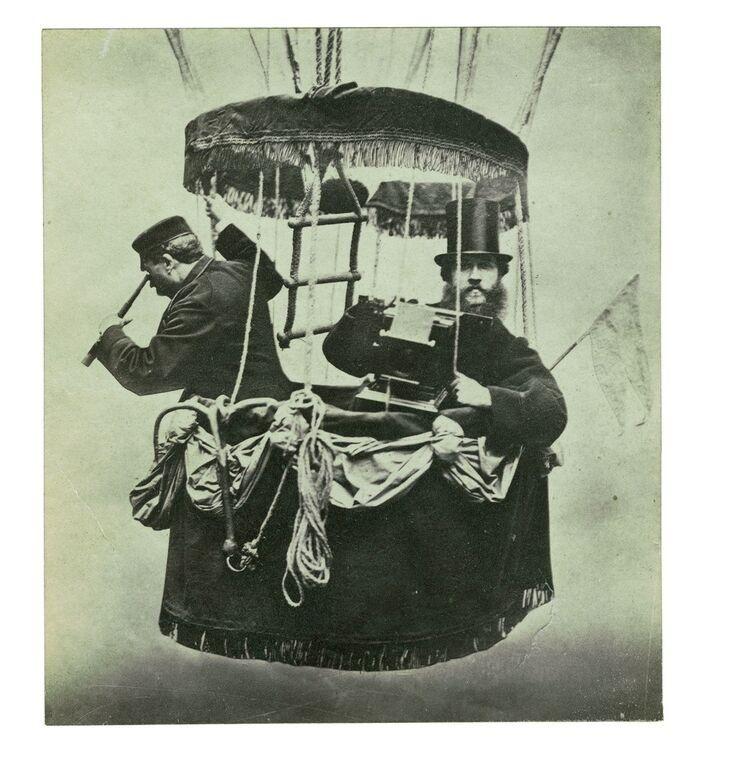 Fotografik w balonie
