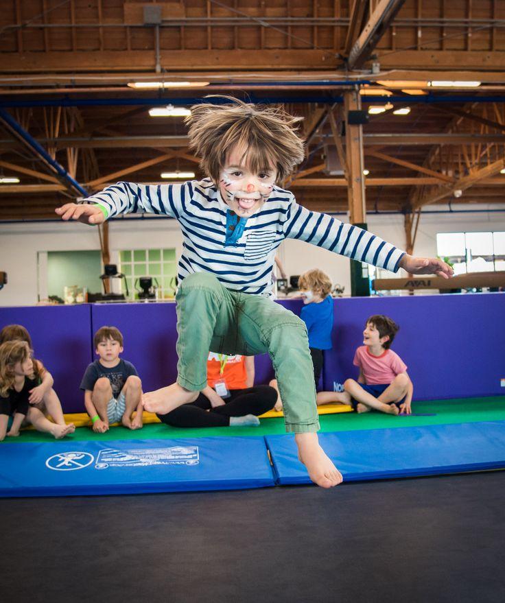 Having fun at klub kamp spring 2016 designed for kids