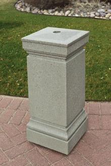 Concrete Smokeless Outdoor Ashtray TF2037