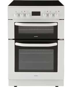 Bush BUEDC60W White Double Electric Cooker - White.