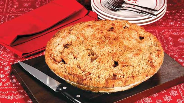 "This pie is great for beginners—no rolling of the crust necessary. As Jill says, ""Add a scoop of vanilla ice cream and life is good."""