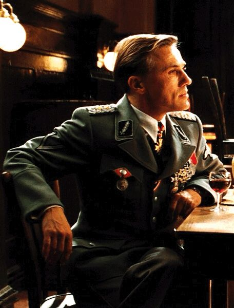 Is it wrong to find Hans so charming? #Inglourious Basterds #Hans Landa #Christoph Waltz