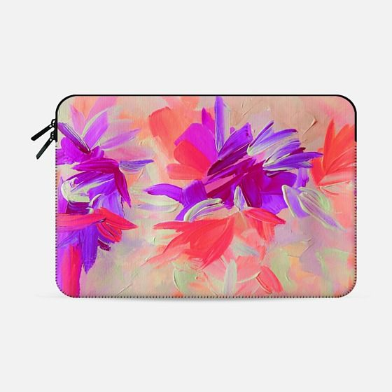 """Deconstructing the Garden 3"" by Artist Julia Di Sano, Ebi Emporium on @casetify Fine Art Abstract Acrylic Painting Elegant Wedding Floral Bride Bridal Bouquet Flowers Pink Coral Lavender Purple Feminine Girly Design Colorful Tech Device Macbook Laptop Sleeve #art #fineart #pink #purple #coral #wedding #romantic #floral #flowers #macbookpro #macbookair #sleeve #macbook #chic #garden #painting #techdevice #tech #MacbookCover #pattern Get $10 off using code: 5K7VFT"