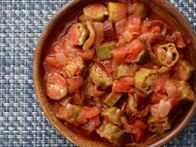 Stewed Okra and Tomatoes Recipe : Patrick and Gina Neely : Food Network