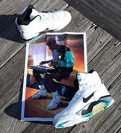 buy popular 2fc66 51345 ... Nike Air Force 180 Pump David Robinson . ...