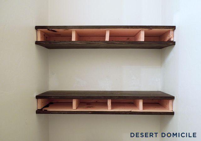 Best 25 Wooden Floating Shelves Ideas Only On Pinterest