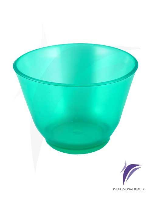 Mezclador Moldeable Verde: Mezclador elaborado en plástico moldeable ideal para la mezcla de mascarillas hidroplasticas.