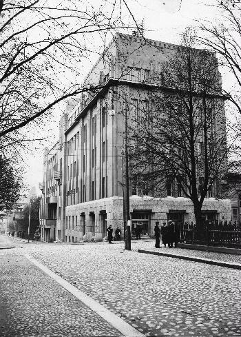 Tampereen Työväentalo 1910-1920