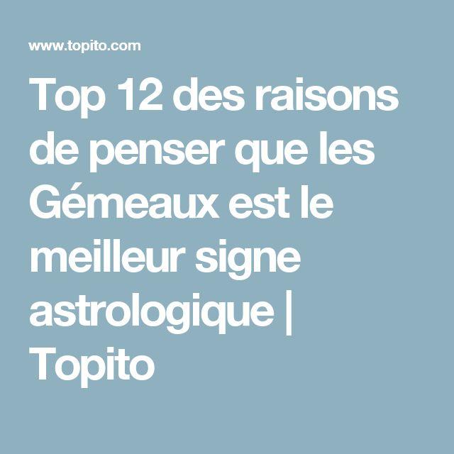 Top 12 des raisons de penser que les Gémeaux est le meilleur signe astrologique   Topito