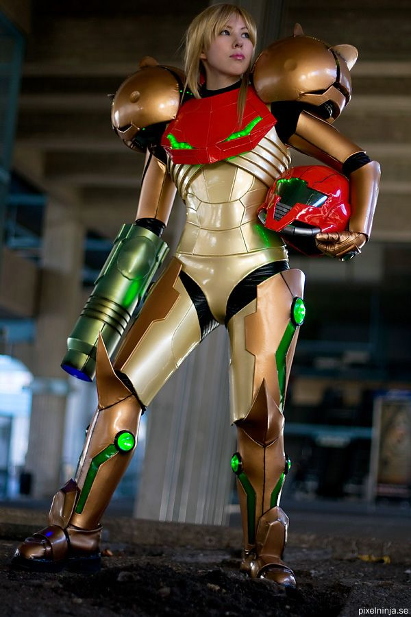 amazing metroid costume