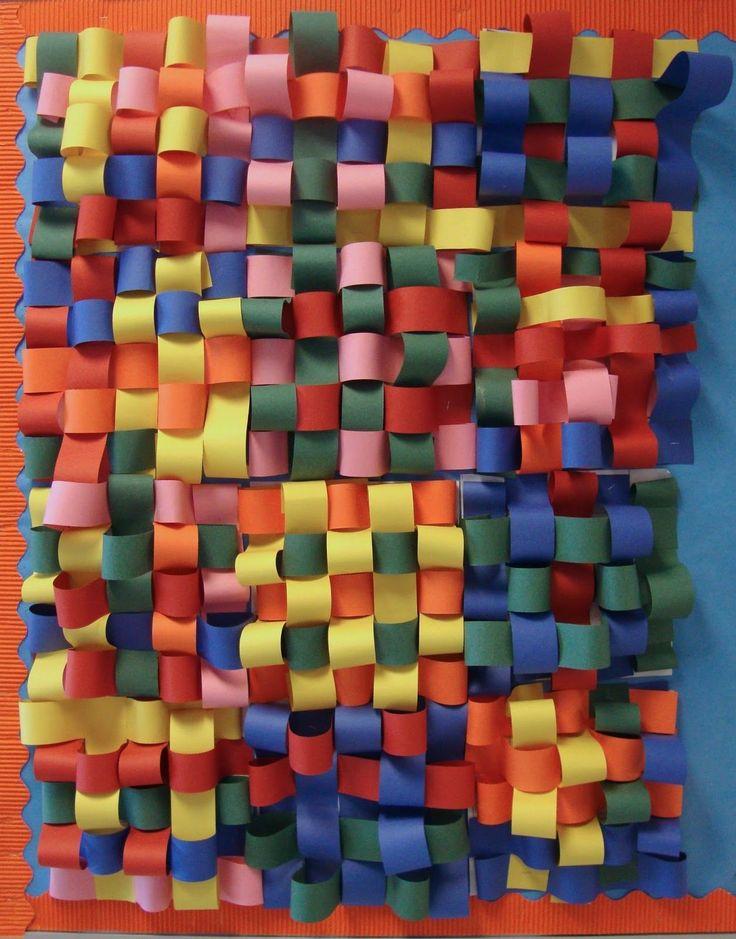 Art. Paper. Scissors. Glue!: 3D Weaving