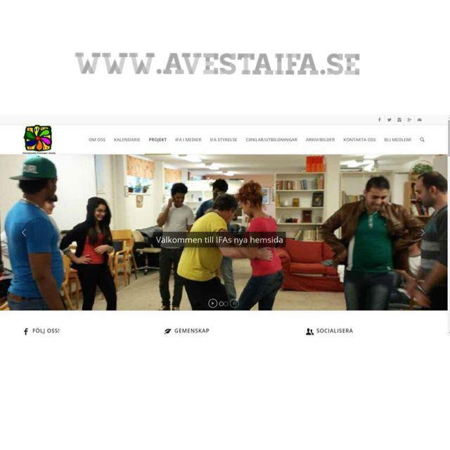 Grattis Internationella föreningen i Avesta,  Ifa Avesta  Till er nya hemsida: www.avestaifa.se det har vart ett nöje att få bidra till något bra! @avestaifa #website #hemsida #lansering #dalarna #hedemora #avesta #internationellaföreningen #stilrent #design