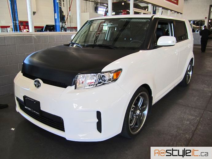 Beau Scion Xb Wrapped | 2011 Scion XB Carbon Fiber Wraps U0026 Stripes