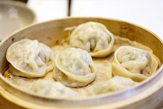 dumplings & kalguksu @ hand made noodle house
