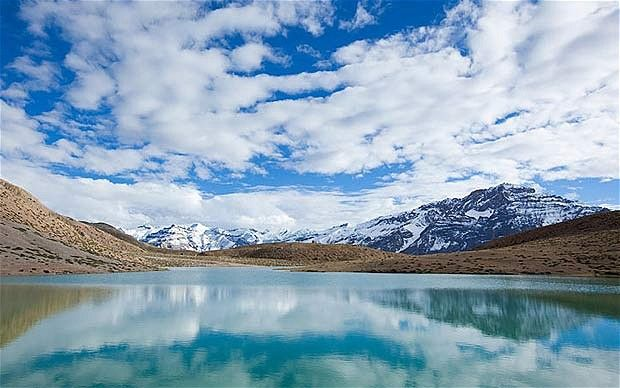 Dhankar Lake, Spiti Valley, Himachal Pradesh, India