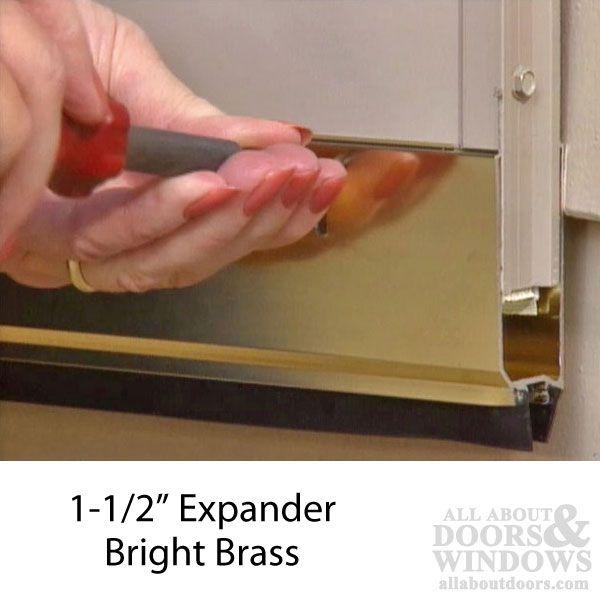Expander 1 1 2 Inch 2 Sweeps 35 1 16 Length Choose Color Door Sweep Door Design Doors