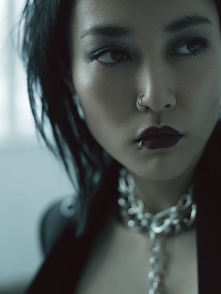 Japan meets Lisbeth Salander: Rinko Kikuchi Stars in Jalouse China December 2013 by Jumbo Tsui