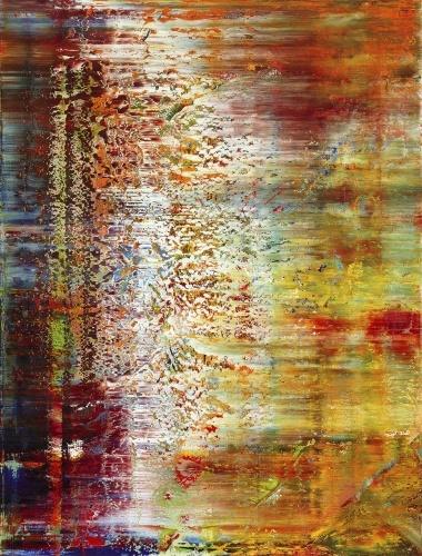 Gerhard Richter, Tableau abstrait, 1990. Catalogue Raisonné: 750-1. http://www.gerhard-richter.com/art/paintings/abstracts/detail.php?paintid=7852#