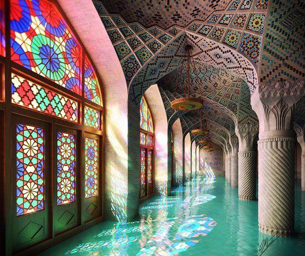 Catisart - Nasir al-Mulk, το φως του δίνει χρώμα