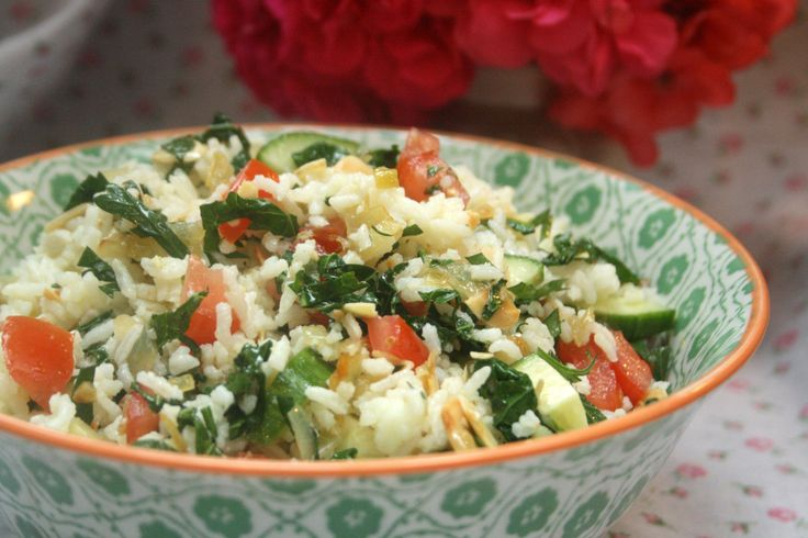confetti rice salad | Vegetarian Beauty | Pinterest