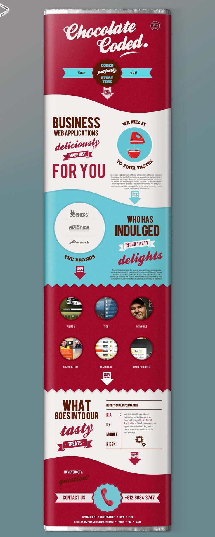 Chocolate just for you! Take a close look. Awesome branding IMPDO
