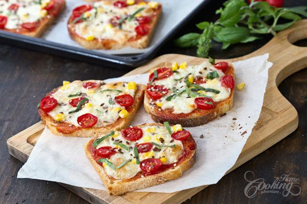 Transform your typical butter on toast with this bread pizza recipe
