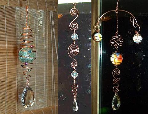 Country Junk Yard Art Ideas | Wire & Copper Art - Types of wire and gauge -