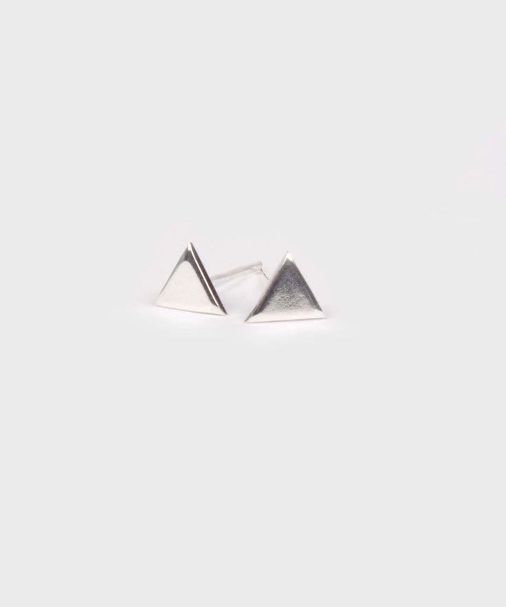 Stud Earrings    Triangle