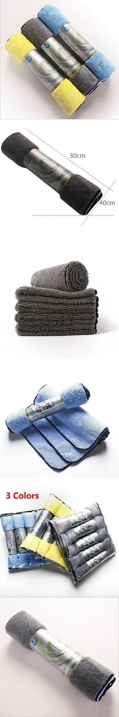 Hot 15Pcs Microfiber Cleaning Cloth Set Towel Rag Car Polishing No Scratch Detailing