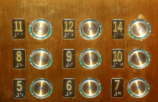 Many hotel guests refuse to stay in a room on the 13th for 13th floor superstition
