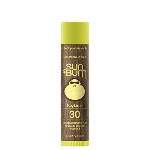 Sun Bum Sunscreen Lip Balm, Key Lime, SPF 30, .15oz Stick, Lip Sunscreen, Paraben Free