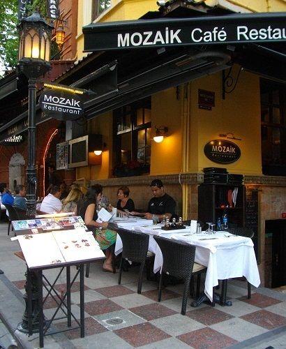 モザイク レストラン