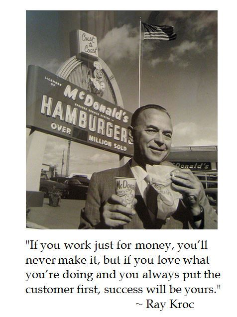 Ray Kroc on Business