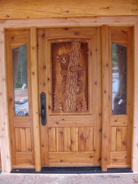 43 best Carved wood doors images on Pinterest | Carved wood, Wood ...