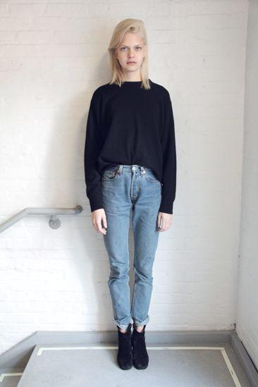hipster londinense jeans claros