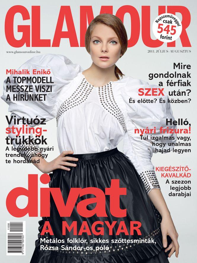 Enikő Mihalik, July-August 2011 issue, Photo by Marcel Gonzalez-Ortiz