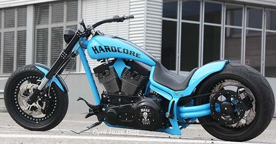 RE-PIN THIS!!! http://www.cardosystems.com/   Walz Hardcore German Style Lowrider by Swiss Harley Dealer