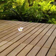 Exceptional DIY Teak Tile Flooring: Create A Chic Dimension To Your Outdoor Deck!  #thinkteak